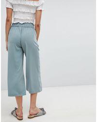 Jupe-culotte large coupe courte New Look en coloris Green