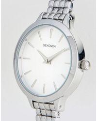 Sekonda - Metallic 2476 Bracelet Watch In Silver - Lyst