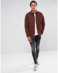 Bellfield - Brown Workwear Overshirt for Men - Lyst