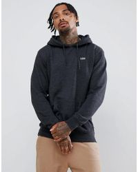 Vans - Small Logo Pullover Hoodie In Black Vn0a3hq2bhh1 for Men - Lyst