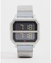 Adidas Originals Gray Adidas R2 Archive Watch