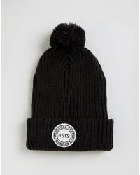 Herschel Supply Co.   Sepp Bobble Beanie In Black for Men   Lyst