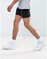 ASOS Jersey Shorts 2 Pack White/black Save for men