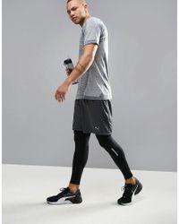 PUMA Blue Running Evoknit T-shirt In Gray 59063303 for men