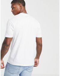 ASOS - Nasa - T-shirt décontracté avec imprimé drapeau ASOS pour homme en coloris White