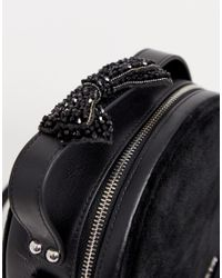 Juicy Couture Black Label - Burnett Circle - Ronde Tas In Zwart