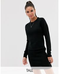Платье-джемпер С Круглым Вырезом -черный Brave Soul, цвет: Black
