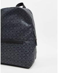 Черный Рюкзак С Логотипом Calvin Klein для него, цвет: Black