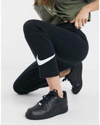 Черные Узкие Джоггеры С Логотипом-галочкой -черный Nike, цвет: Black