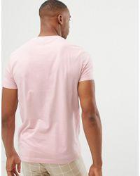 Multi-pack de 5 camisetas de tejido orgánico con cuello redondo ASOS de hombre de color Pink