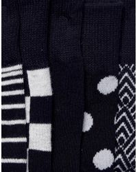 Jack & Jones - Multicolor 5 Pack Socks for Men - Lyst
