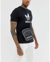 Черная Сумка Для Авиапутешествий -черный Adidas Originals для него, цвет: Black