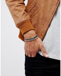 ASOS | Metallic Bracelet Pack With Mixed Chains for Men | Lyst