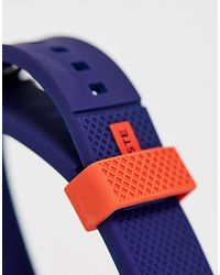 Lacoste – Herrenarmbanduhr aus Silikon in Blue für Herren