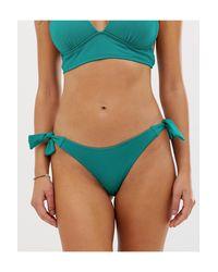 Зеленые Плавки Бикини Accessorize, цвет: Blue