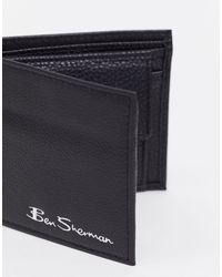 Portamonete di Ben Sherman in Black da Uomo