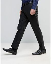 Jack & Jones Black Premium Slim Tuxedo Pant for men