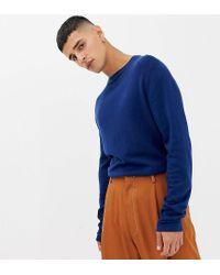 Maglione vestibilità classica blu navy di Noak in Blue da Uomo