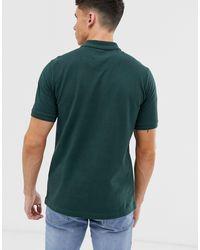 Polo en piqué avec logo emblématique Original Penguin pour homme en coloris Green