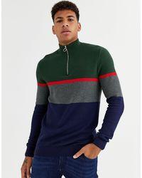 New Look – Sweatshirt in Green für Herren
