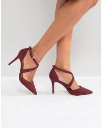 Chaussures pointues talons et brides croises Carvela Kurt Geiger en coloris Red