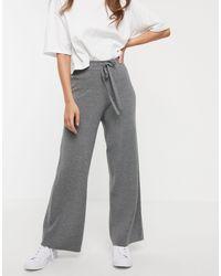 Pantalones Fashion Union de color Gray