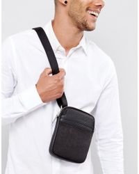 Calvin Klein Black Cross Body Bag for men