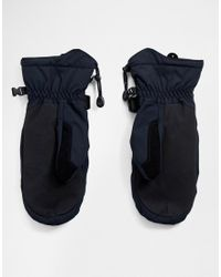 Mission - Moufles de ski - Noir Quiksilver pour homme en coloris Black