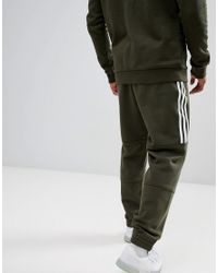 Joggers de punto en verde DH5792 Outline de Adidas Originals de hombre de color Green