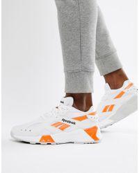 Reebok Aztrek 90s Sneakers In White Cn7472 for men