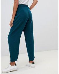 Suncoo - Green Wide Leg Pant - Lyst