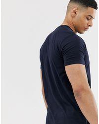 T-shirt col grand-père French Connection pour homme en coloris Blue