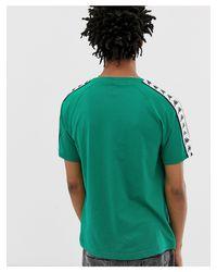 Banda Coen - T-shirt avec bandes logo Kappa pour homme en coloris Green