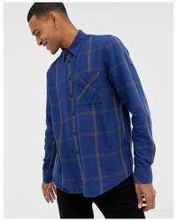 Camisa de cuadros en azul Sten de Co Nudie Jeans de hombre de color Blue