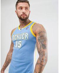Mitchell & Ness - Black Nba Denver Nuggets Swingman Vest for Men - Lyst