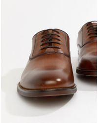 Светло-коричневые Кожаные Туфли На Шнуровке Eloie ALDO для него, цвет: Brown