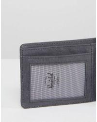 Herschel Supply Co. | Black . Hank Wallet With Rfid for Men | Lyst