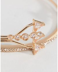 ALDO - Metallic Vanhese Stacking Bracelets - Lyst