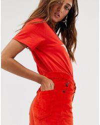 Tara - Jeans dritti di Fiorucci in Orange