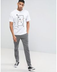 ASOS White Oversized T-shirt With Berlin Print for men