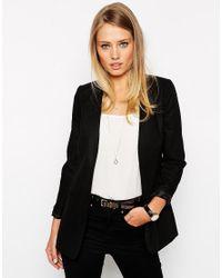 ASOS Black Asos Clean Linen Blazer