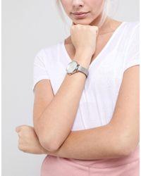 ASOS - Metallic Asos Tonal Silver Mesh Watch - Lyst