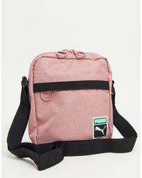 Розовая Сумка Originals Portable Retro-многоцветный PUMA для него, цвет: Pink