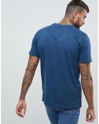 Nicce London Blue Logo T-shirt for men