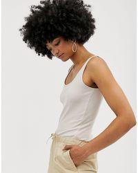 Monki Natural – Trägershirt