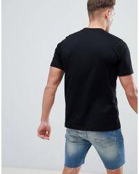 DIESEL Black T-just-division Industry Logo T-shirt for men