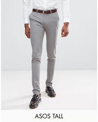 Pantalones ASOS de hombre de color Gray
