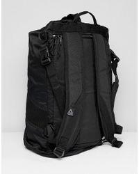 Reebok Training Active Enhanced Convertible Grip Backpack In Black Cz9808 for men