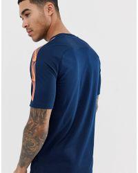 Breathe Squad - T-shirt - Bleu marine Nike Football pour homme en coloris Blue
