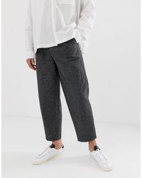 Pantaloni eleganti e comodi di ASOS in Gray da Uomo